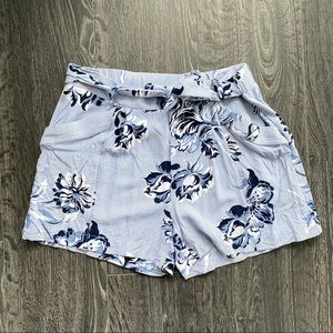 JOE FRESH M Blue striped /floral Shorts
